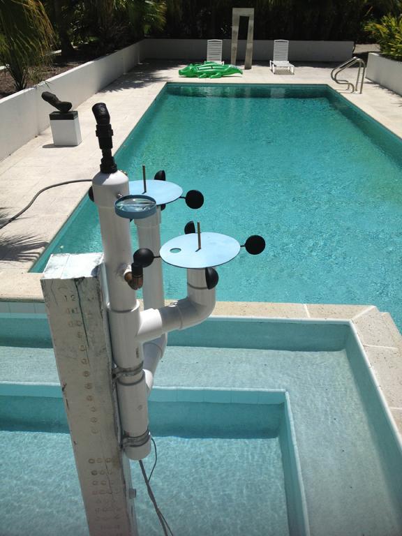 sensors by pool
